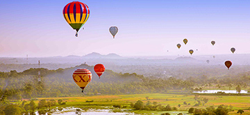 Sri Lanka Hot Air Ballooning